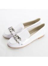 Балетки Chanel White
