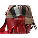 РЮКЗАК BURBERRY MEDIUM CANVAS CHECK BACKPACK 38823946 RED