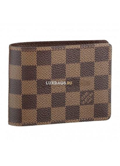 Кошелёк Louis Vuitton Damier Ebene Multiple Wallet N60895