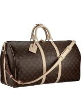Дорожная сумка Louis Vuitton Monogram canvas Keepall Bandouliere 55 M41414