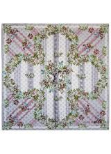Платок Louis Vuitton Kаpе Flowers LV XVIII MP0686