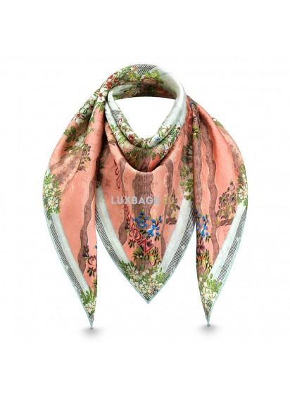 Платок Louis Vuitton Kаpе Flowers LV XVIII